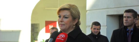 Predsednica stigla u Vukovar