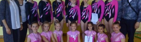Uspeh vukovarskih gimnastičarki u Valpovu