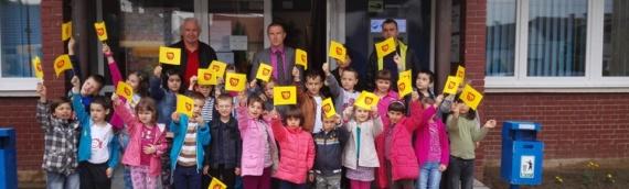 Čestitke najmlađih za Dan opštine
