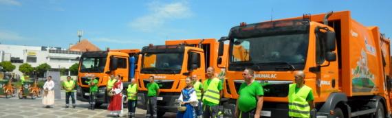 Novi kamioni za odvoz otpada