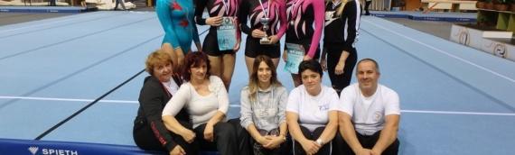 Dva srebra i jedna bronza vukovarskim gimnastičarkama