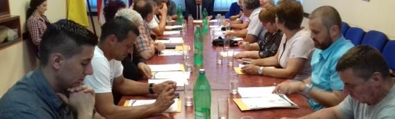 Održana 1. redovna sednica Opštinskog veća opštine Borovo