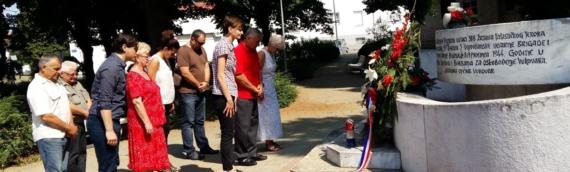 Vukovarski SDP obeležio Dan antifašističke borbe