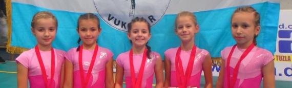 Uspešan nastup vukovarskih gimnastičarki u Banja Luci