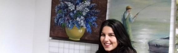 Prva samostalna izložba Jelene Lazić