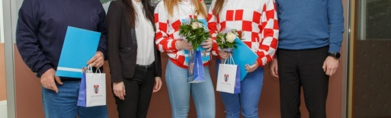 Vukovar: Gradonačelnik Ivan Penava primio mlade vukovarske reprezentativke