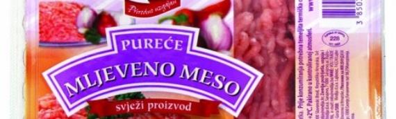Zbog salmonele povučeno mleveno meso