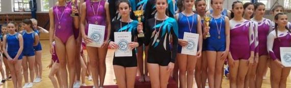 Gimnastički klub Vukovar: Uspešan nastup u Belom Manastiru