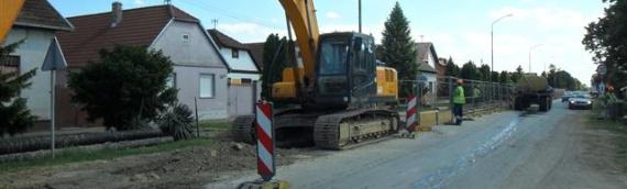 Novi asfalt na državnoj cesti D-519 kroz Borovo do kraja idućeg meseca