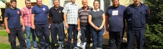 Opština Erdut donirala dobrovoljnim vatrogasnim društvima pumpe za izvlačenje vode
