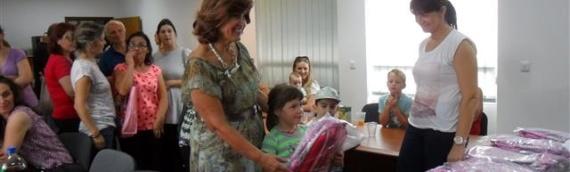 Školske torbe iz Vojvodine uručene budućim đacima prvacima