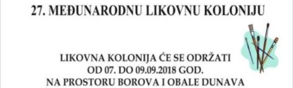 Borovo: Međunarodna likovna kolonija