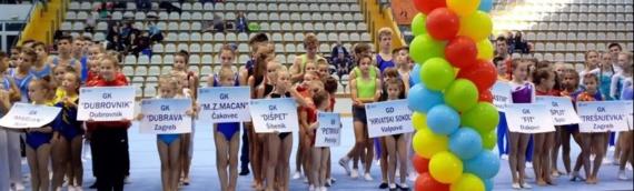Vukovarske gimnastičarke se okitile medaljama na Završnici KUP-a Hrvatske