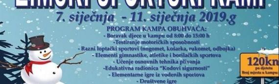 Zimski sportski kamp u Vukovaru