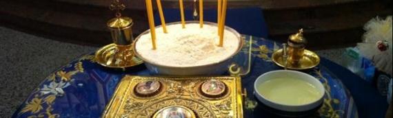 Sveta tajna jeleosvećenja u borovskom hramu