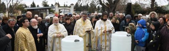 Borovo: Veliko osvećenje vode na Bogojavljenje