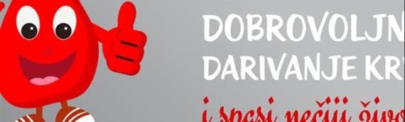 U Vukovaru održana akcija dobrovoljnog davanja krvi