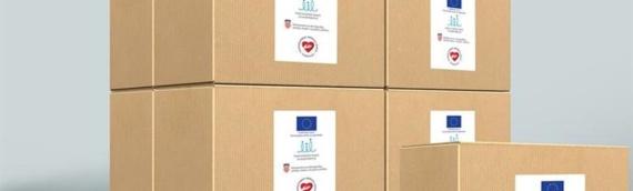 Borovo: Druga od pet podela paketa s hranom
