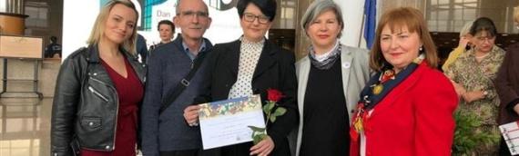 """Zahvalnica GK Vukovar za doprinos nacionalnom projektu """"Kreativna nadogradnja digitalnog sadržaja knjižnice: mreža virtuelnih izložbi"""""""