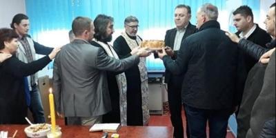 Veće srpske nacionalne manjine u Borovu obeležilo krsnu slavu Sretenje