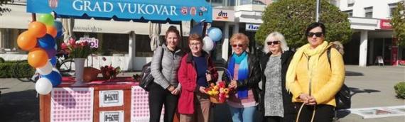 Akcija Foruma žena SDP-a Vukovar: Omiljeni cvet Ane Rukavine