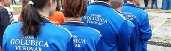 UZOSIO Golubica na atletskom mitingu u Puli