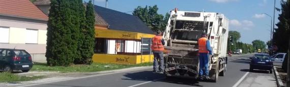 Odvoz otpada u Borovu dan ranije zbog neradnog  1.januara