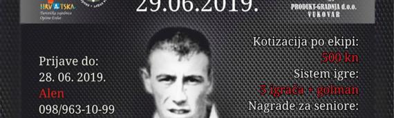 """Otvoren 3. Memorijalni turnir """"Danijel Popović"""" u Dalju – Rezultati"""