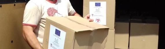 """Humanitarno udruženje """"Duga"""" podelilo u Borovu 300-ak paketa s hranom"""