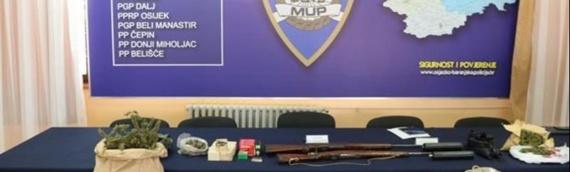 Zbog droge i oružja 47-godišnjaku i 48-godišnjaku određen istražni zatvor