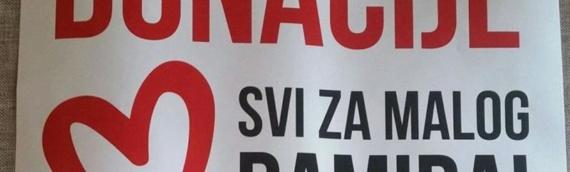 """KK """"Borovo"""": Svi za malog Damira"""