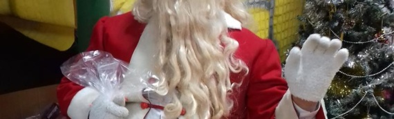 Deda Mraz obradovao mališane iz Borova