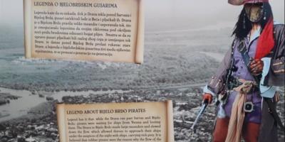 Bijelo Brdo: Digitalna razglednica s motivima legende o gusarima