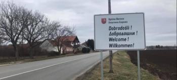 Borovo: Table dobrodošlice i na ćirilici
