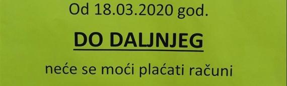"""Obaveštenje iz """"Eko Dunava"""""""