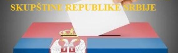 Parlamentarni izbori u Srbiji: Prijave za glasanje u Generalnom konzulatu u Vukovaru do 4.aprila