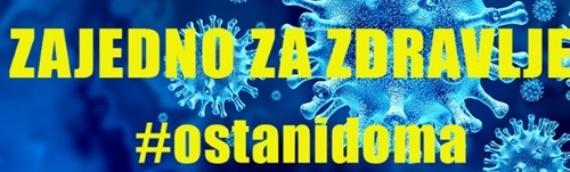 VSŽ: Izlečeno 26 osoba, novoobolelih od koronavirusa nema