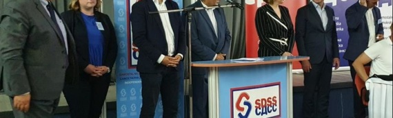 Glavna skupština SDSS-a: Kandidati za saborske zastupnike Milorad Pupovac, Dragana Jeckov i Boris Milošević
