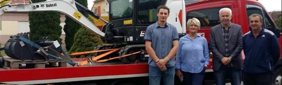 Borovski Eko-Dunav dobio novu radnu mašinu