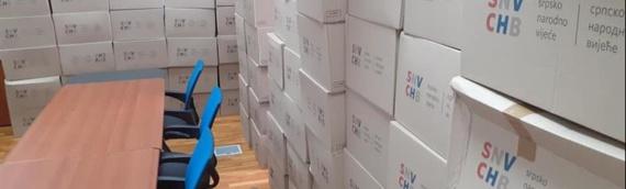 Iz SNV-a dopremljeni paketi za najugroženije pripadnike srpske zajednice