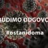 U VSŽ još jedan slučaj zaraze koronavirusom