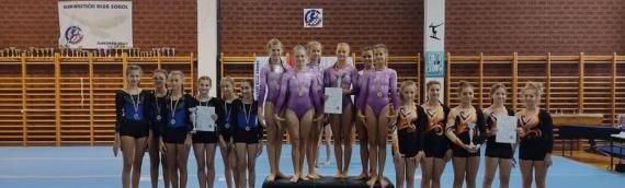 Nove medalje vukovarskih gimnastičarki