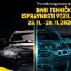 Dani tehničke ispravnosti vozila od 23. do 28.novembra