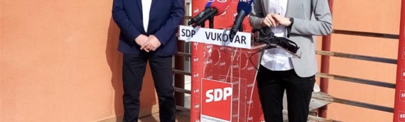 Sukob mladih u Vukovaru osudili i SDP-ovi kandidati Damir Maduna i Biljana Gaća