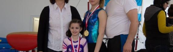Uspeh vukovarskih gimnastičarki