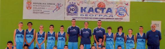"""Učešće mladih košarkaša na kampu """"Kasta"""""""