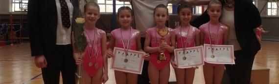 Uspešan start vukovarskih gimnastičarki