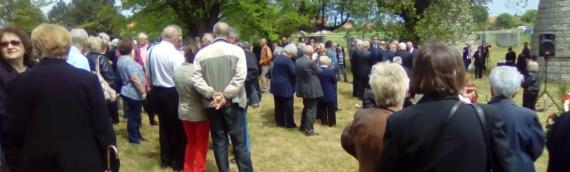 Komemoracija za žrtve fašizma u Dudiku