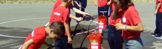 Pokazna vežba za najmlađe članove vatrogasnih društava