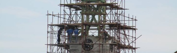 Rekonstrukcija zvonika crkve u Borovu